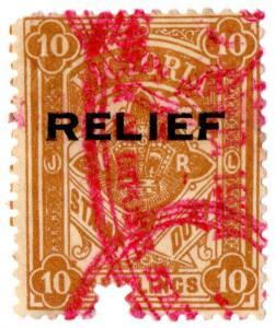 (I.B) Australia - Victoria Revenue : Relief Tax 10/-