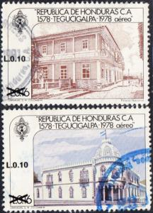 Honduras #C779-C781 Used Set