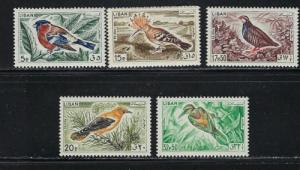 Lebanon 434-39 Lightly Hinged 1965 Birds