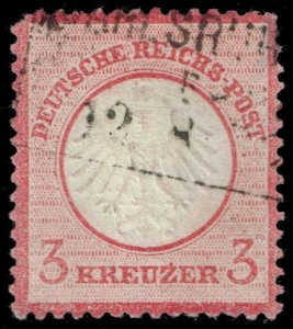 Germany #9 Imperial Eagle; Used (2Stars)