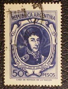 Argentina Scott #827a used