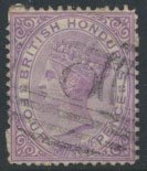 British Honduras SG 14 SC # 10 Used  wmk Crown CC see scans and details
