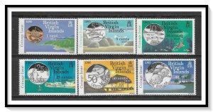 British Virgin Islands #484-489 New Coinage Set MNH
