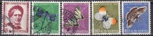 Switzerland #B207-11  F-VF Used CV $14.40  (Z6185)