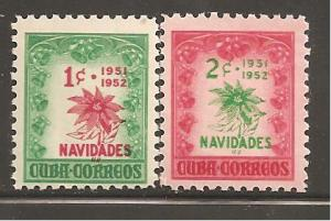 Cuba SC 469-70 Mint Never Hinged