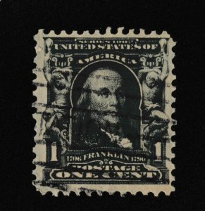 U.S. Franklin 1c SC #300