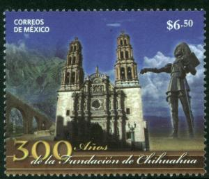 MEXICO 2640, $6.50P City of Chihuahua 300th Annivers. MNH.