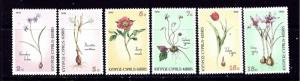 Cyprus 766-71 MNH 1990 Flowers