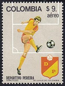 Colombia # C720k mnh ~ 9p Soccer - Deportivo Pereira