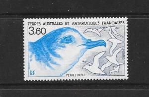 BIRD - FRENCH SOUTHERN ANTARCTIC TERRITORY #144  MNH