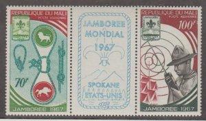 Mali Scott #C50a Stamp - Mint NH Pair