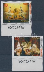 Makedonien stamp Europa CEPT: National Holidays margin set 1998 MNH WS115060