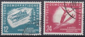 German Democratic Republic 76-77 used (1951)