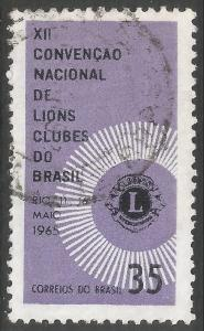 BRAZIL 1000 VFU LIONS CLUB V330-2