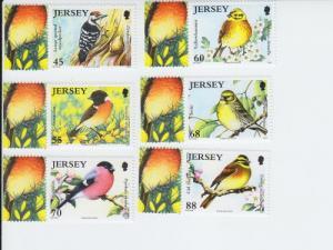 2012 Jersey Endangered Birds - Birdlife VI (1609-14) MNH