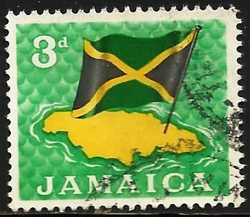 Jamaica 1964 Scott# 221 Used