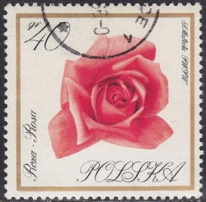 Poland 1433 USED 1966 Flowers