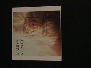 COLORFUL MARILYN MONROE STAMP SHEET #M1