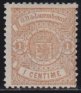 Luxembourg 1875-1879 SC 29 MLH
