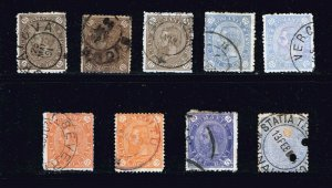 ROMANIA STAMP OLD USED STAMP COLLECTION LOT #S4
