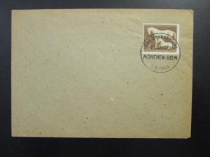 Germany 1944 Munich Blue Ribbon Event Cover / Cancel - Z6574