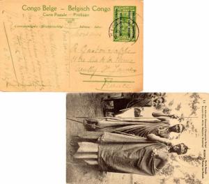 Ruanda Urundi Occupation of German East Africa Belgian Congo 5c Climbing Oil ...