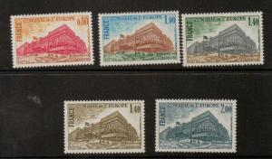 FRANCE SGC20/4 1977 COUNCIL OF EUROPE BULIDING  MNH
