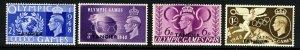 MOROCCO AGENCIES TANGIER KG VI 1948 Olympics Set SG 257 to SG 260 MNH