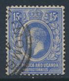 East Africa & Uganda Protectorate Used - SG 49 SC#45 - see details