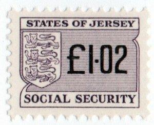 (I.B) Jersey Revenue : Social Security £1.02