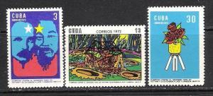 CUBA 1696-98 MNH MARTI HO CHI MING 632G