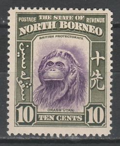 NORTH BORNEO 1939 ORANG UTAN 10C