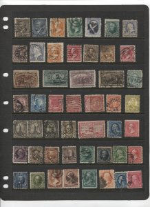 STAMP STATION PERTH -US #50 Used Stamps - Unchecked