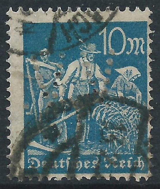 Germany, Sc #222, 10m Used