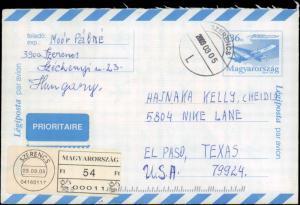 Hungary, Postal Stationery, Aviation