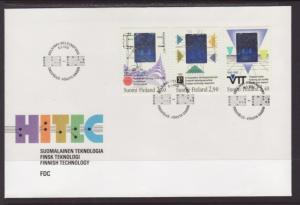 Finland 886-888 Technology U/A FDC