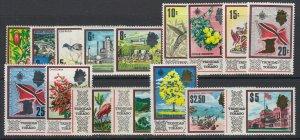 Trinidad & Tobago, Scott 144-159 (SG 339-354), MLH