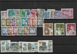 germany berlin used+mnh stamps ref 12511