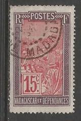 MADAGASCAR/MALAGASY 87 VFU W714