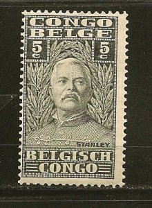 Belgian Congo 115 Sir Henry Morton Stanley Mint Hinged