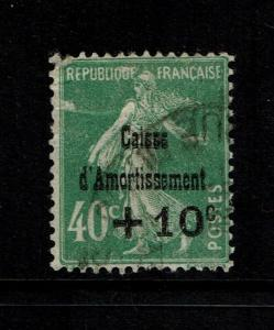 France SC# B31, Used, top perf thin, minor creasing - Lot 101117