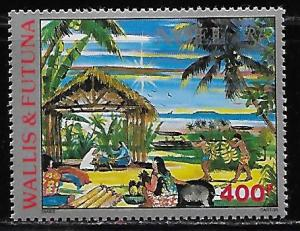 Wallis and Futuna Islands C161 Christmas single MNH