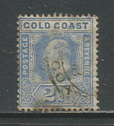 Gold Coast   #59  Used  (1907)  c.v. $4.75