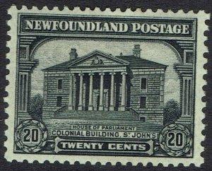 NEWFOUNDLAND 1928 PUBLICITY 20C PERF 13.5 X13