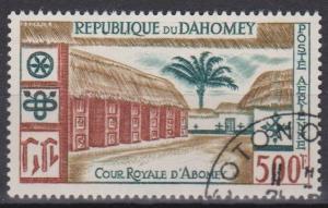 Dahomey #C15 F-VF Used CV $4.00 (ST608)