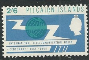 Pitcairn Islands  |  Scott # 53 - MH