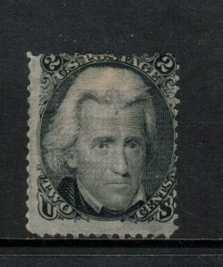 USA #84 Mint Fine D Grill Large Part Original Gum **With Certificate**