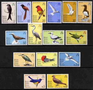 British Indian Ocean Territory 1975 Birds definitive set ...