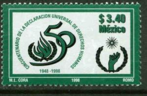 MEXICO 2077, Declaration of Human Rights 50th Anniv.. MINT, NH. VF. (69)