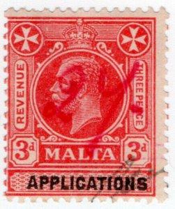 (I.B) Malta Revenue : Applications 3d